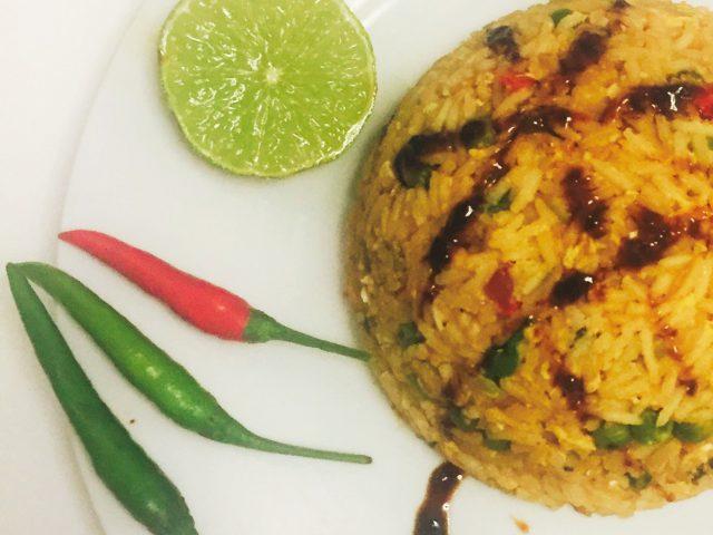 Thailand: Kokosöl Reis (gebraten)
